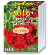 Kalendarz 2016. Kalendarz tradycyjny z różą - okładka książki