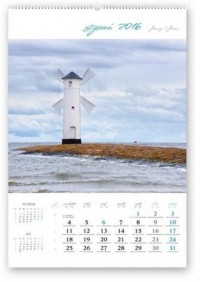 Kalendarz 2016. Pejzaże z nastrojem - okładka książki