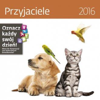 Kalendarz 2016. Przyjaciele - okładka książki