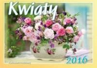 Kalendarz rodzinny 2016. Kwiaty - okładka książki