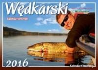 Kalendarz rodzinny 2016. Wędkarski. Kalendarium brań - okładka książki