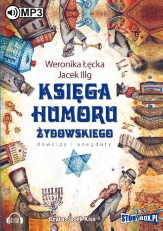 Księga humoru żydowskiego - pudełko audiobooku