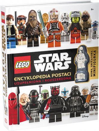 Lego Star Wars. Encyklopedia postaci - okładka książki