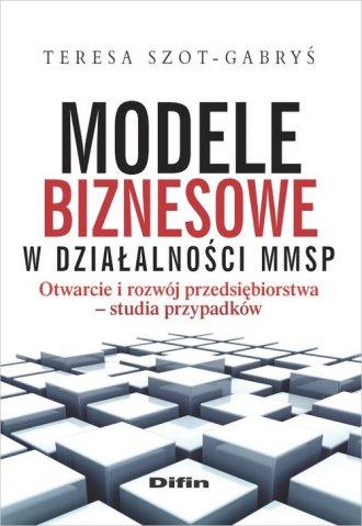 Modele biznesowe w działalności - okładka książki