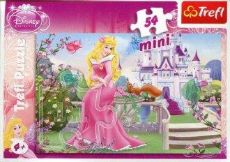 Piękna i Bestia (puzzle mini 54-elem.) - zdjęcie zabawki, gry