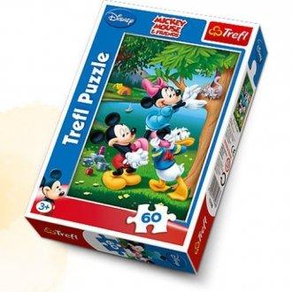 Piknik z Donaldem (puzzle 60-elem.) - zdjęcie zabawki, gry