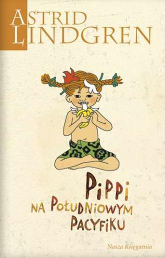 Pippi na Południowym Pacyfiku - okładka książki