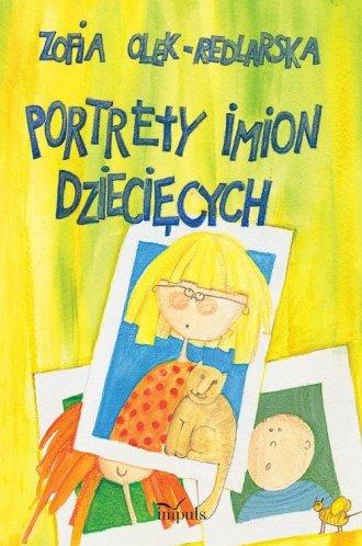 Portrety imion dziecięcych - okładka książki