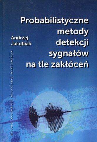 Probabilistyczne metody detekcji - okładka książki
