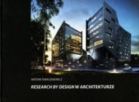 Research by design w architekturze - okładka książki
