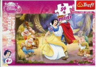 Śnieżka (puzzle mini 54-elem.) - zdjęcie zabawki, gry