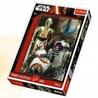 Star Wars. Droidy (puzzle 160-elem.) - zdjęcie zabawki, gry