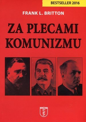 Za plecami komunizmu - okładka książki