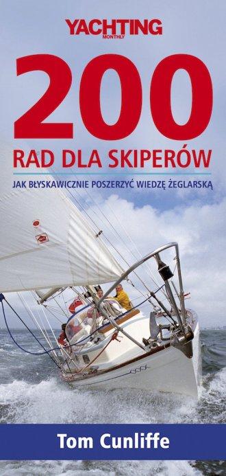 200 rad dla skiperów - okładka książki