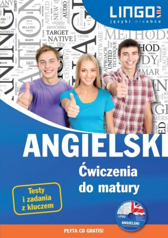 Angielski. Ćwiczenia do matury - okładka podręcznika