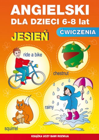 Angielski dla dzieci (6-8 lat). - okładka podręcznika