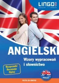 Angielski. Wzory wypracowań i słownictwo (+ CD) - okładka podręcznika