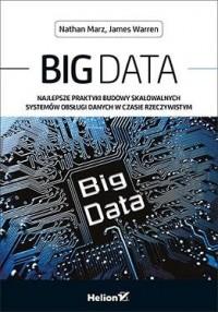 Big Data. Najlepsze praktyki budowy skalowalnych systemów obsługi danych w czasie rzeczywistym - okładka książki
