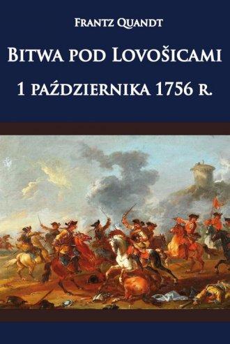 Bitwa pod Lovosicami 1 października - okładka książki