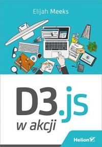 D3.js w akcji - okładka książki