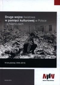 Druga wojna światowa w pamięci - okładka książki