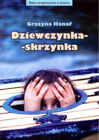 Dziewczynka - skrzynka - okładka książki