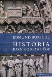 Historia konkordatów - okładka książki
