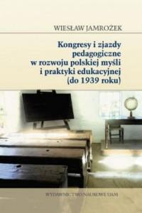 Kongresy i zjazdy pedagogiczne - okładka książki