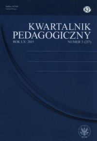 Kwartalnik Pedagogiczny 3/2015 - okładka książki