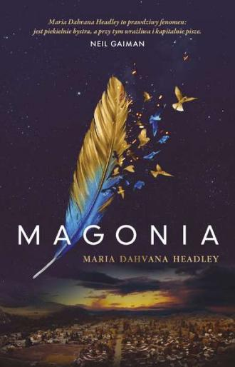 Magonia - okładka książki