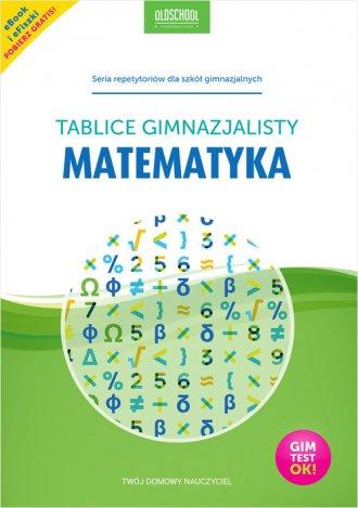 Matematyka. Tablice gimnazjalisty. - okładka podręcznika
