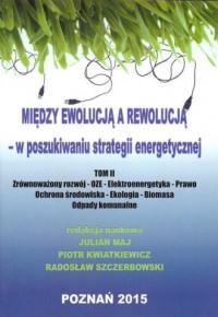 Między ewolucją a rewolucją - w poszukiwaniu strategii energetycznej. Tom 2 - okładka książki