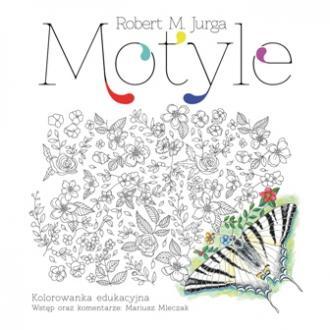 Motyle. Kolorowanka - okładka książki