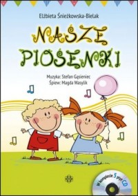 Nasze Piosenki. Książka (+ 5CD) - okładka książki