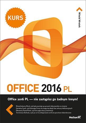 Office 2016 PL. Kurs - okładka książki