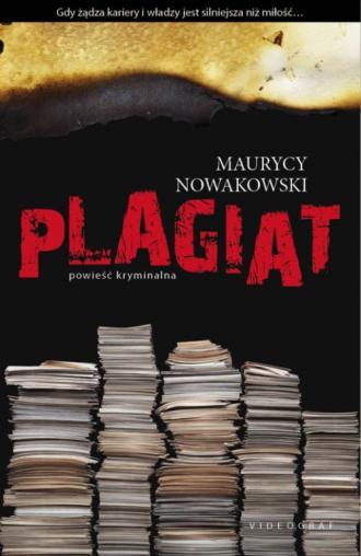Plagiat - okładka książki