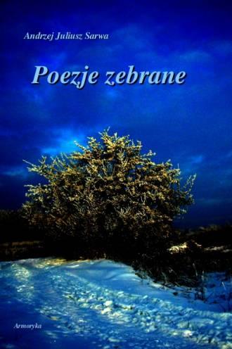 Poezje zebrane - okładka książki
