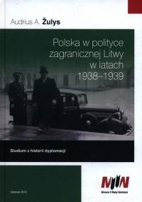 Polska w polityce zagranicznej - okładka książki