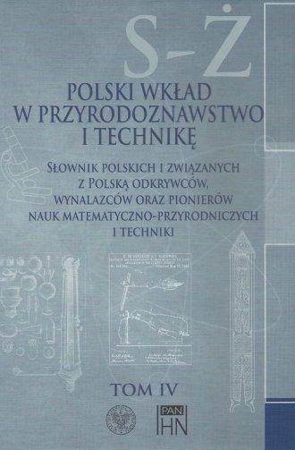 Polski wkład w przyrodoznawstwo - okładka książki