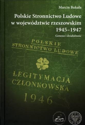 Polskie Stronnictwo Ludowe w województwie - okładka książki