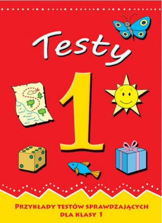 Przykłady testów sprawdzajacych - okładka podręcznika