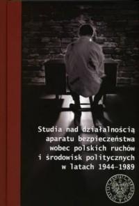 Studia nad działalnością aparatu - okładka książki