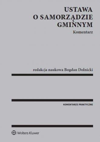 Ustawa o Samorządzie Gminnym - okładka książki