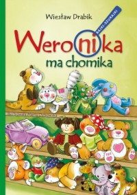Weronika ma chomika - okładka książki
