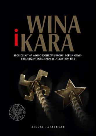Wina i kara. Społeczeństwa wobec - okładka książki