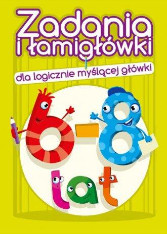 Zadania i łamigłówki (6-8 lat) - okładka książki