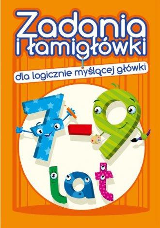 Zadania i łamigłówki (7-9 lat) - okładka książki