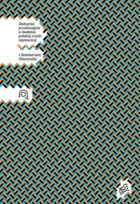 Założenia przedwstępne w badaniu polskiej sztuki najnowszej - okładka książki