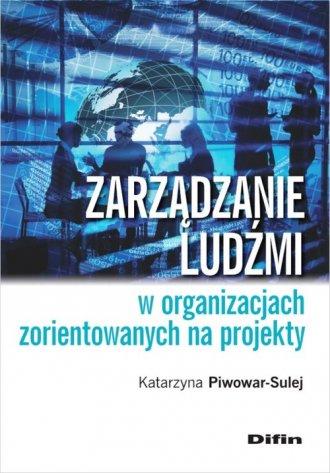 Zarządzanie ludźmi w organizacjach - okładka książki