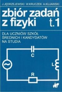 Zbiór zadań z fizyki. Tom 1-2 - okładka książki